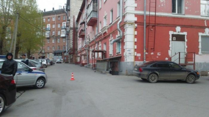 Одно из серьёзных ДТП с ребёнком во дворе случилось в апреле недалеко от площади Станиславского