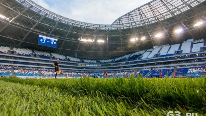 «Свет и правда отключали»: электроснабжение стадиона «Самара Арена» восстановили