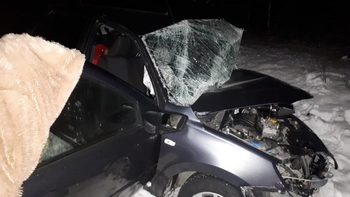 Погибли водитель и пассажир «Лады»: в Башкирии на трассе произошло смертельное ДТП