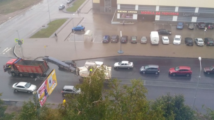 На улице Губайдуллина в Уфе будут перестилать асфальт