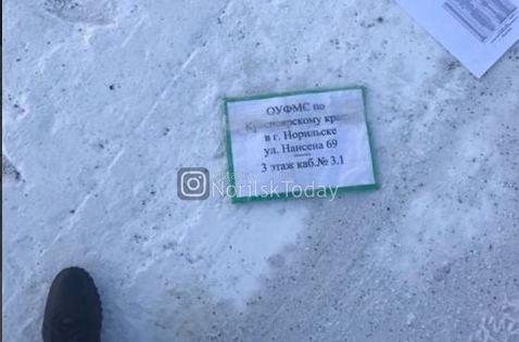 Копии паспортов, военников: десятки документов с именами из УФМС рассыпаны по улицам Норильска