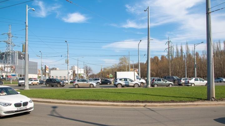 Департамент транспорта назвал новые сроки реконструкции XXII Партсъезда в Самаре