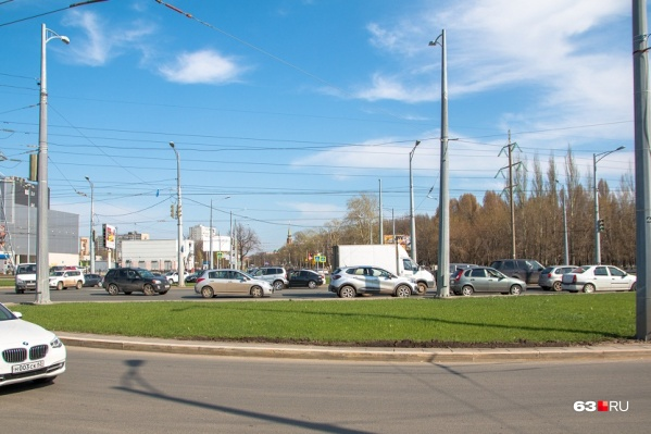 УлицуXXII Партсъезда в первую очередь собираются продлить от кольца с Московским шоссе до Ново-Садовой