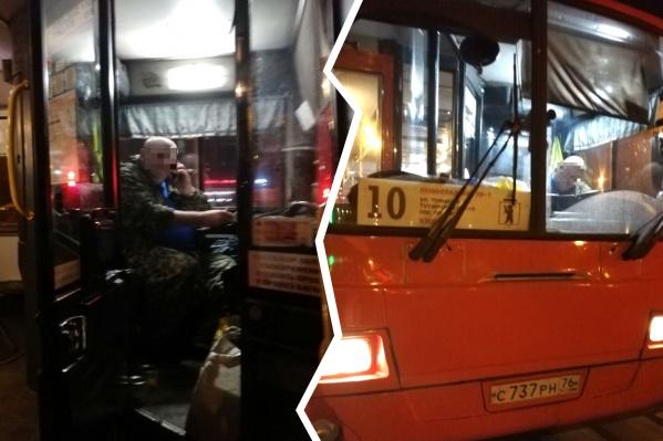 Водитель автобуса утверждает, что бабушка упала сама