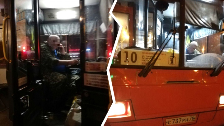 В Ярославле автобус проехал по упавшей бабушке: ей ампутировали ногу