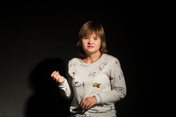 Алина Исламова стала актрисой два года назад