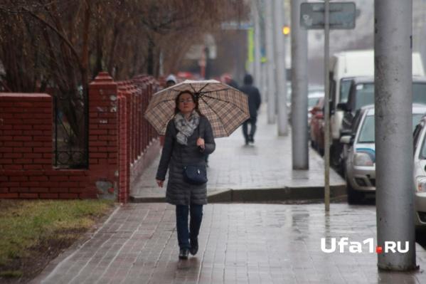 Отправляясь на прогулку, прихватите с собой зонтики