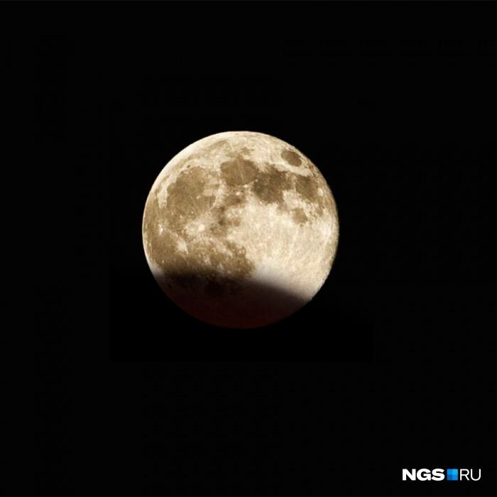Ночью над Кузбассом взойдёт кровавая луна