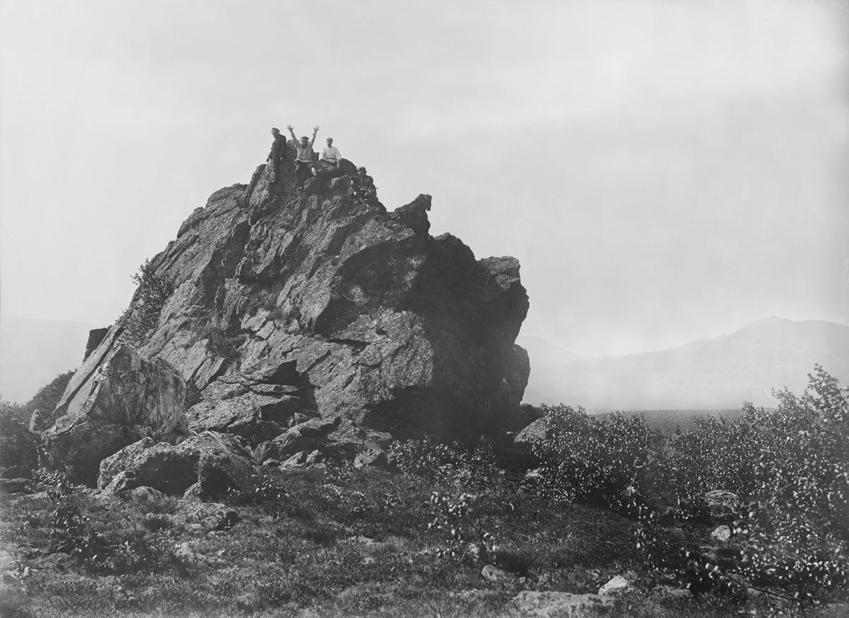 На горе Таганай