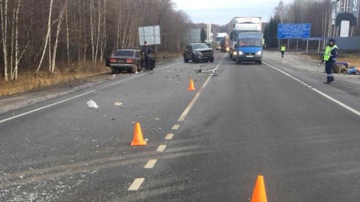 Не уступил дорогу: на трассе в Башкирии произошло смертельное ДТП