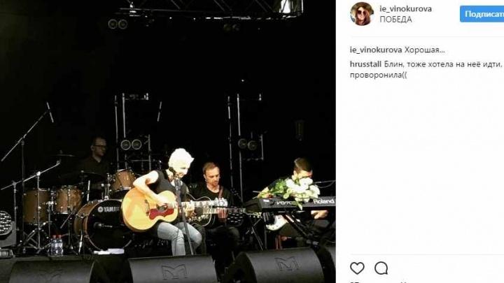 Новосибирцы завалили соцсети видео концерта рок-звезды в кинотеатре