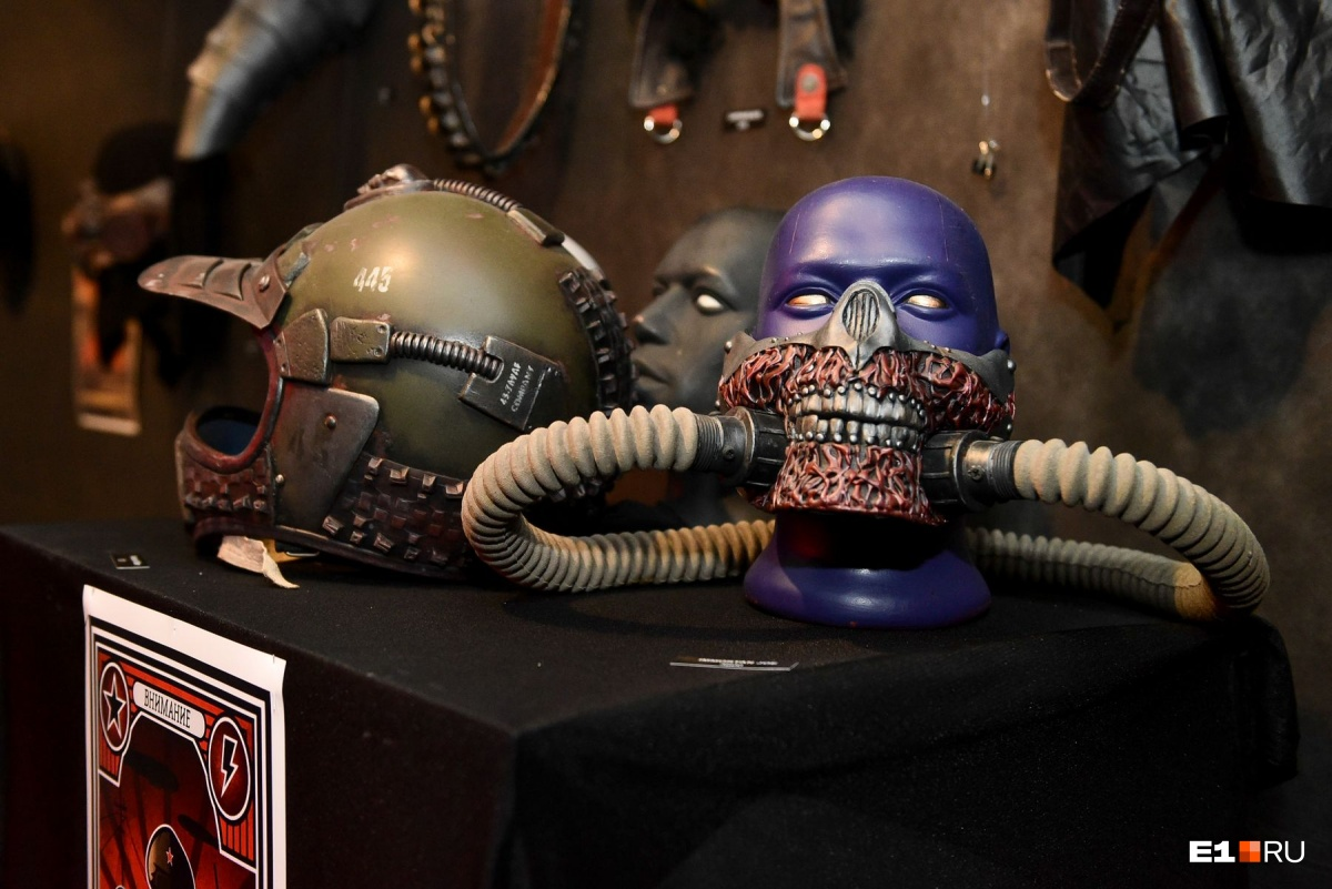 Многие маски выглядят жутковато