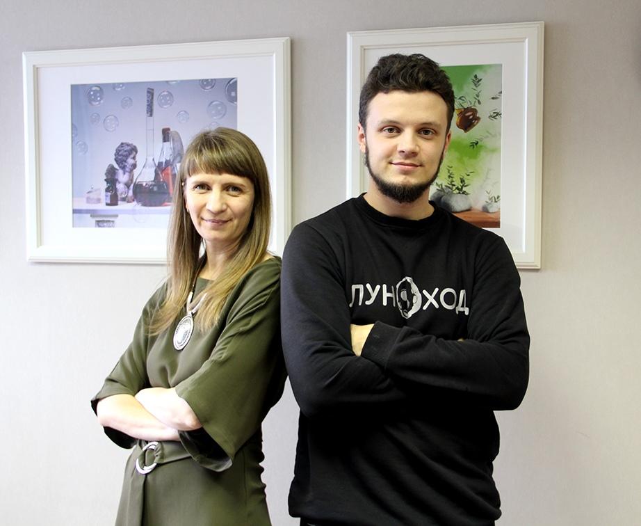 Авторы — семья Заевых из Новосибирска. На фото Татьяна Заева и её сын Андрей