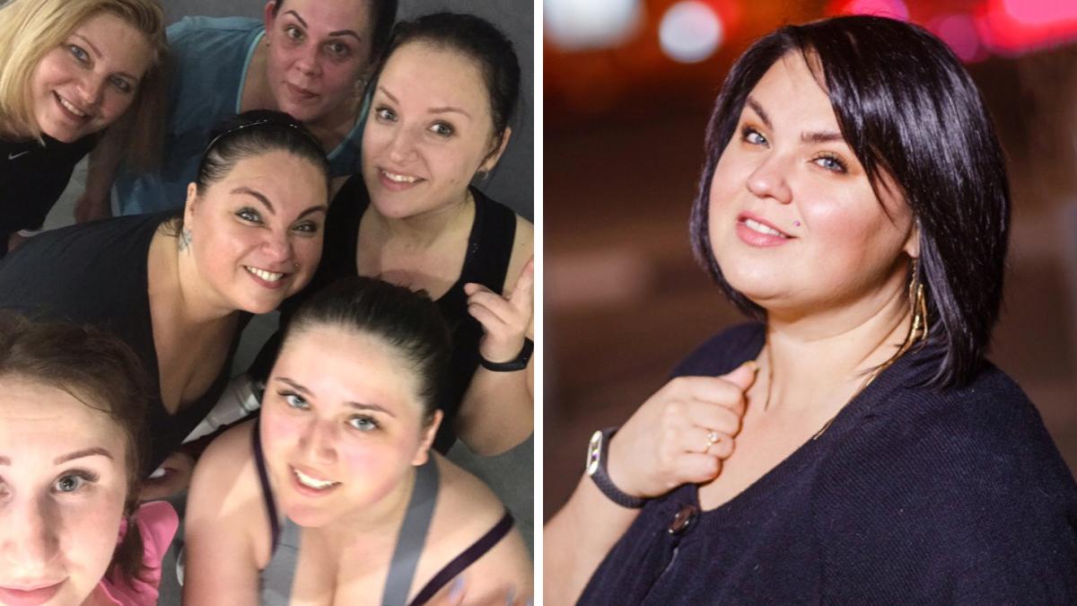 Расставаться с лишним весомАнастасия Разова решила в группе