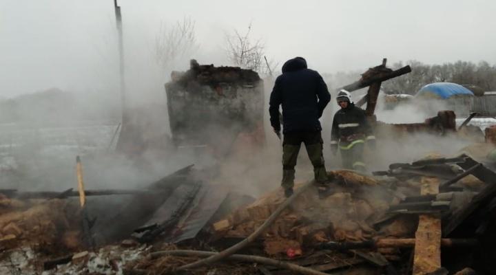 В Волгоградской области сгорели семь человек