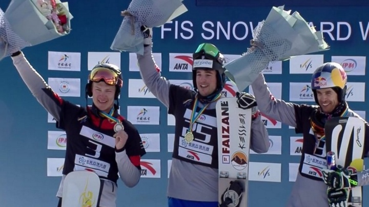 Красноярский сноубордист стал вторым на Кубке мира в Китае