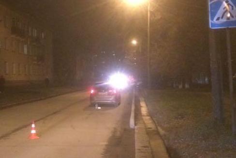 Женщина за рулём Honda отвлеклась и сбила ребёнка на «зебре»