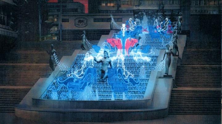 Заказано благоустройство Театральной площади: меняют бордюры и готовят новую новогоднюю подсветку