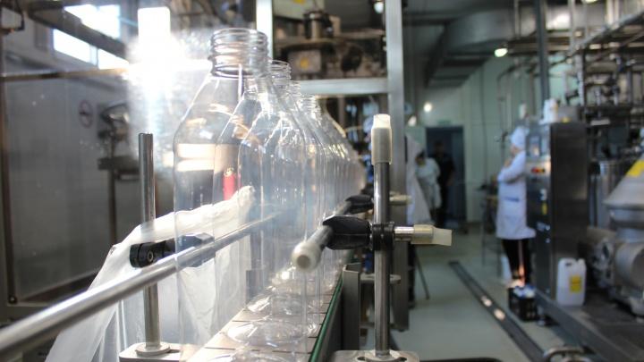 Банкиры поддержали молочный завод, продукция которого идет в детские сады и школы