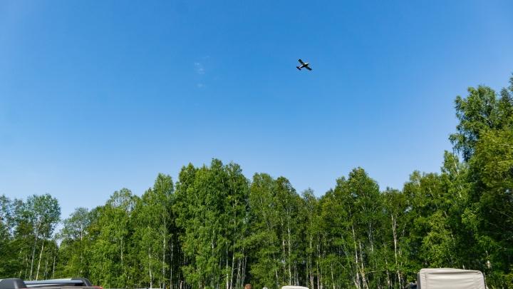 МЧС поблагодарило омского пилота за поиски трёхлетнего Коли Бархатова