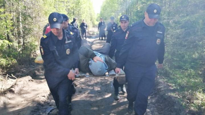 Активиста, пострадавшего в стычке 31 мая на Шиесе, задержали после суда над Анной Шекаловой