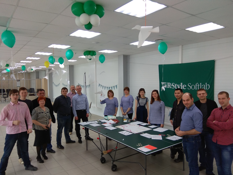 Праздник в офисе R-Style Softlab. Фото предоставлено сотрудниками компании