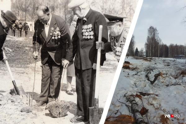 Жители Брейтова обвинили власть в уничтожении памяти о ветеранах