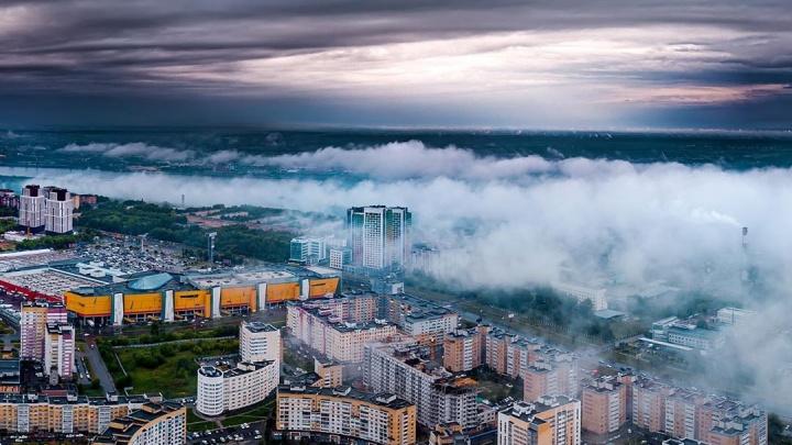 Фото дня. Загадочный туман окутал Нижний Новгород