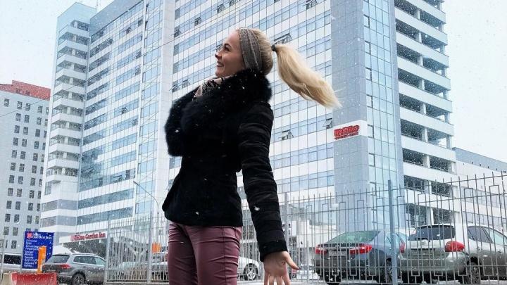 Мартовский снегопад в Красноярске стал поводом для красноярцев наделать красивых снимков