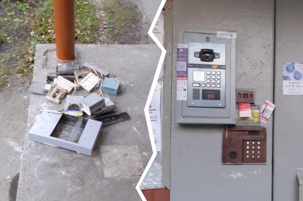 В Челябинске началась домофонная война
