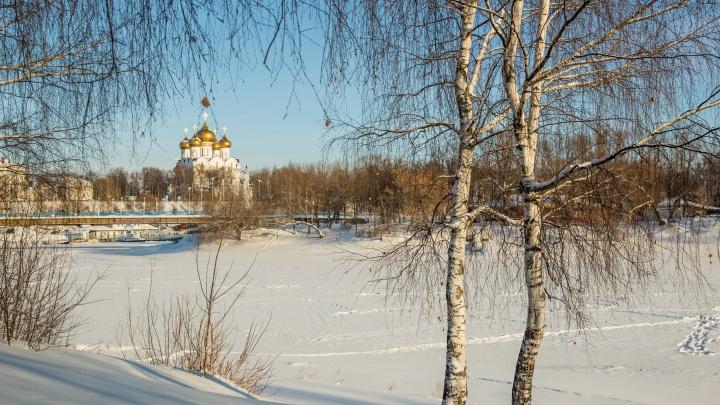 Зима, пока! Вспоминаем лучшие фото морозного Ярославля