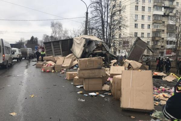 Авария произошла на проспекте Мира