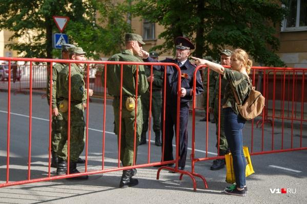 Генеральная репетиция на площади Павших Борцов начнется завтра в 10:00