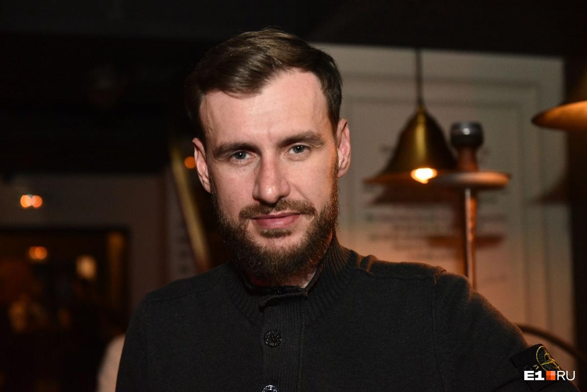 Ресторатор Евгений Кексин тоже поучаствовал в конкурсе бородачей