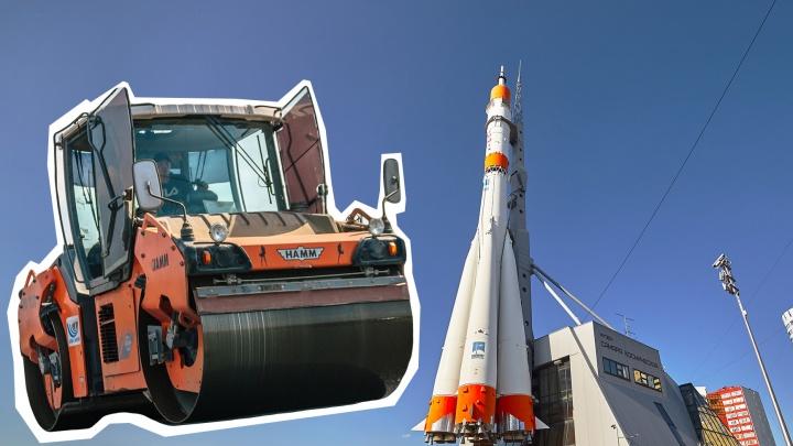 Огибая ракету: публикуем схему новой дороги, которая свяжет Ново-Садовую, Ленина и Луначарского