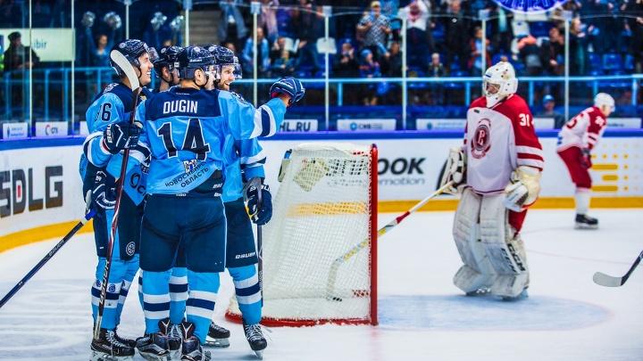 Можем повторить: «Сибирь» одержала вторую победу над «Витязем» за сезон