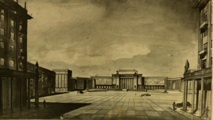 Площади и дворцы как в Петергофе: советский генплан Перми, который не был осуществлен