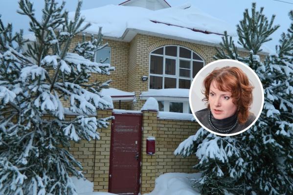 Дом Дарьи Эйсфельд не смогли забрать в счет долга