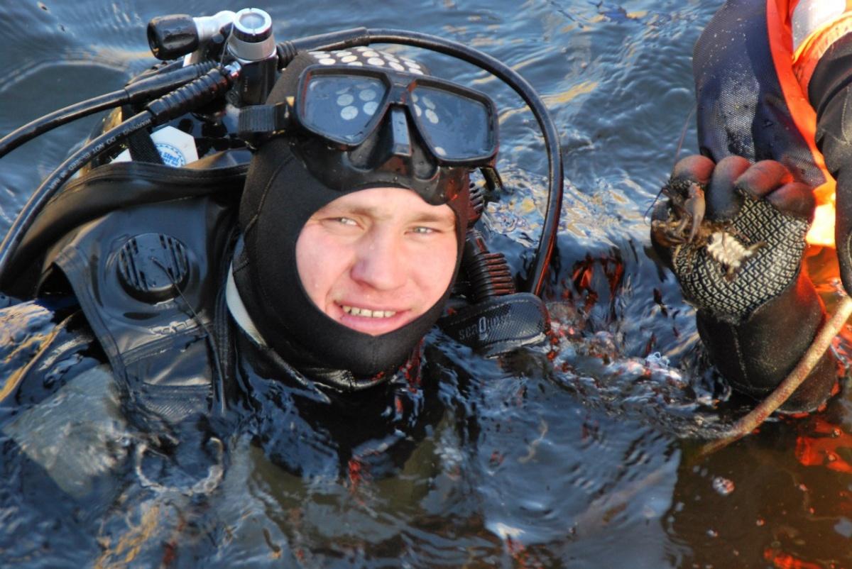 Павел Чеботаев восемь лет проработал водолазом-спасателем