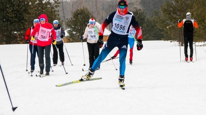 В Зауралье более 2500 человек участвовали в «Лыжне России»