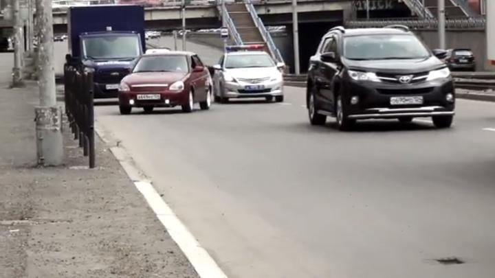 ГИБДД сняла короткометражку в Красноярске с лихо закрученным сюжетом