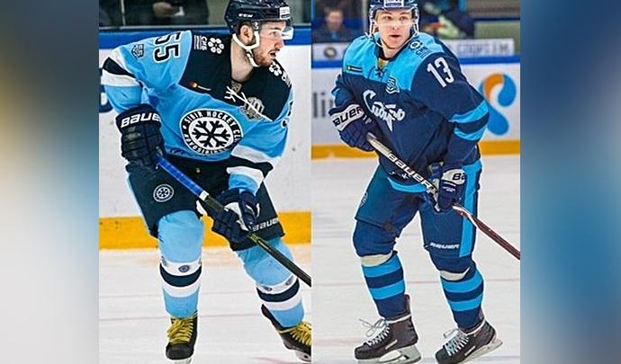 Двух игроков ХК «Сибирь» вызвали сыграть за сборную в матчах с европейцами