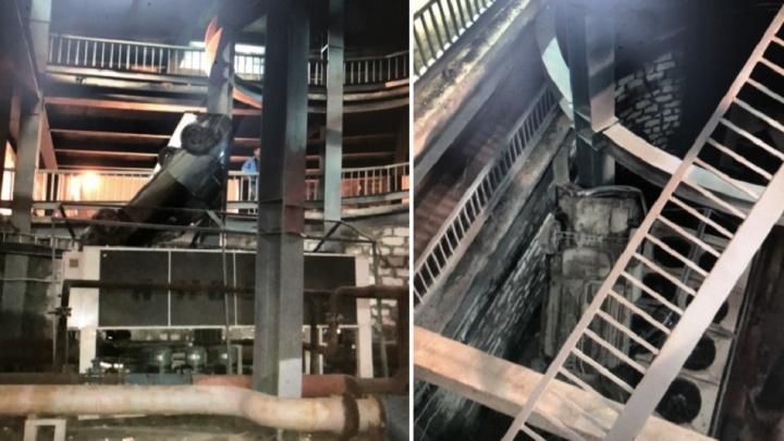 Рухнул с парковки «Гудка»: самарцы сняли на видео спасение многострадальногоHyundai