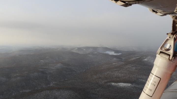 Поисковая операция в Приисковом: сообщается о найденных снегоходах пропавших туристов