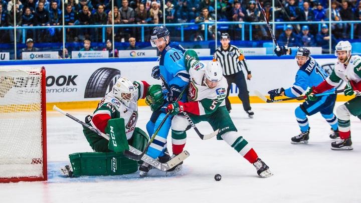 Одну пропустили: «Сибирь» проиграла казанскому «Ак Барсу»