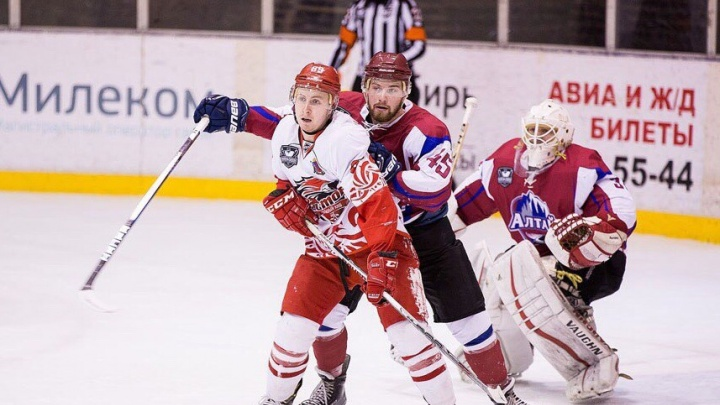 Ростовские хоккеисты в упорном матче одолели соперников из Барнаула