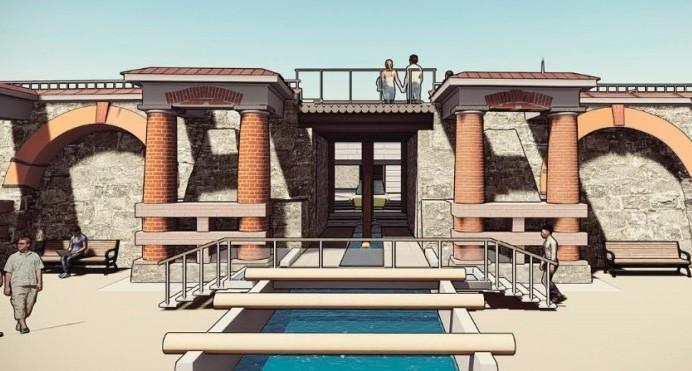 Летаем над новой Плотинкой: студенты-архитекторы придумали, как оживить старинный мост на Ольховке