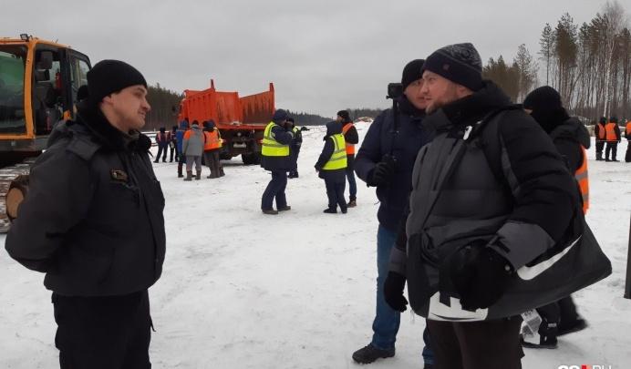 Правозащитник полицейских Владимир Воронцов выпустил фильм по итогам своей поездки на Шиес
