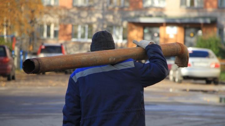 14-й лесозавод без воды, Ломоносова без отопления: где в Архангельске отключают коммунальные услуги