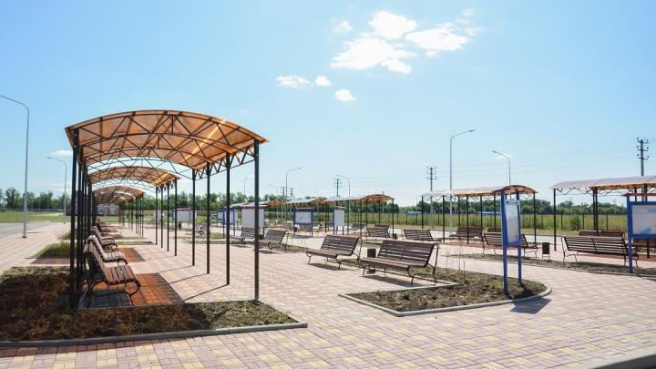 В Мясниковском районе официально открыли новое кладбище